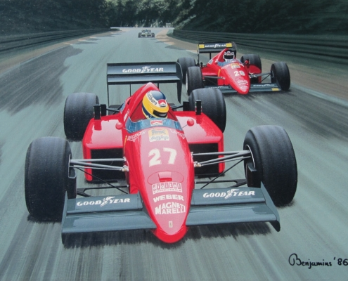 Ferrari Team Mates
